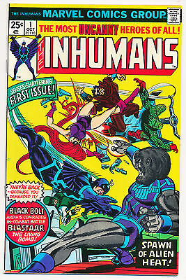 Inhumans No. 1 -  Marvel, 1975 First Issue - Blastaar! High Grade, One Owner