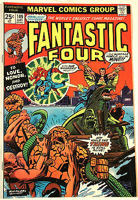FANTASTIC FOUR #149, Inhumans, MARVEL, original owner, HIGH GRADE