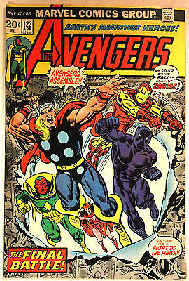 AVENGERS #122, Mantis, MARVEL, original owner, HIGH GRADE