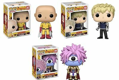 One Punch Man Set Lot of 3 funko pop New IN STOCK! Complete Set