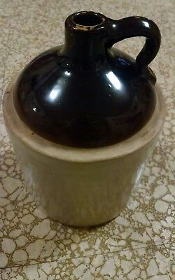 Brown Topped Ceramic Jug