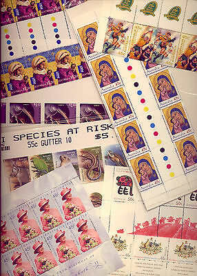 POSTAGE  STAMP COLLECTION in MINT $100 WORTH OF POSTAGE   VERY CHEAP