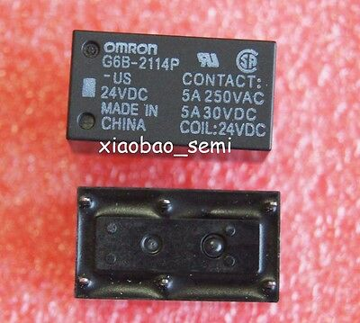 PCB Power Power Relay G6B OMRON G6B-2114P-US-DC12 5V Closer Open 12V 5A