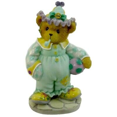 Cherished Teddies, Jeanette, Clown, Retired, New In Box, Clean Papers, 2004