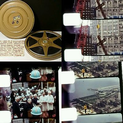 Rare! c.1973 Original Film Reel of Sears Tower Construction Willis Skyscraper