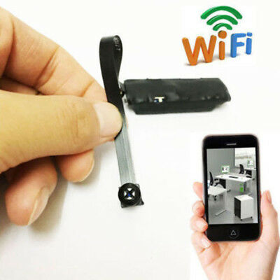 Hidden Pinhole Mini Wireless Nanny Camera Home Security System Micro Spy Cam