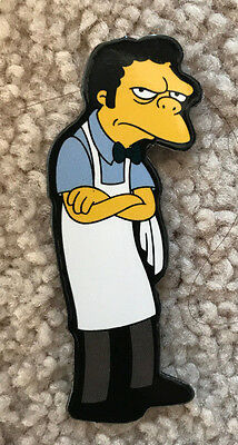 Moe The Bartender Refrigerator Magnet From The Simpsons