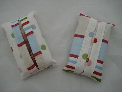 HANDMADE Tissue Pouch BNWT Various Designs & Colours Gifts