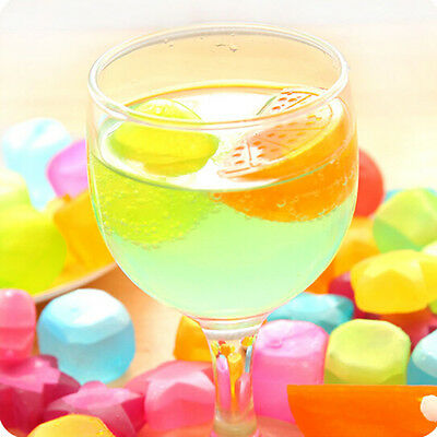 Plastic Freezer Ice Cube Cool Drink Cold Fruit Cubes Reusable Home Party Best