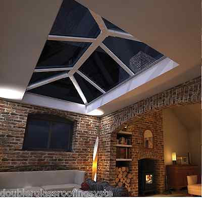 Skypod Glass Lantern Roof 1.5m x 3m - check out our shop for other sizes!