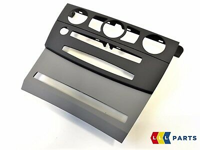 Bmw New Genuine 5 Series E60 E61 Interior Trim Panel Dashboard Cover Grey