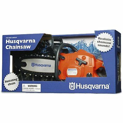 Home & Kitchen Features Husqvarna Battery Operated Toy Chain Saw No Tax Valuable