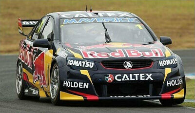 New Classic Carlectables Jamie Whincup 2014 Supercar VF Commodore Red Bull 1:64