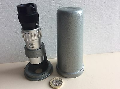 Hensoldt Wetzlar Pocket Microscope metallurgical incident light similar to TAMI