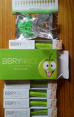1 Kit complet blanchiment des dents + 4 gels (Goût pomme)MADE IN FRANCE Bbryance