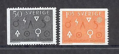 Sweden  1963  Engineering and Industry, MNH.
