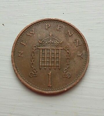 New Penny 1p coin
