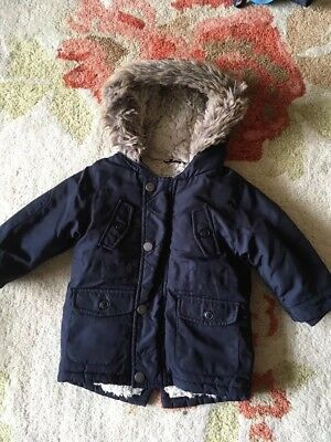 Baby Boys Next Coat 9-12 Months