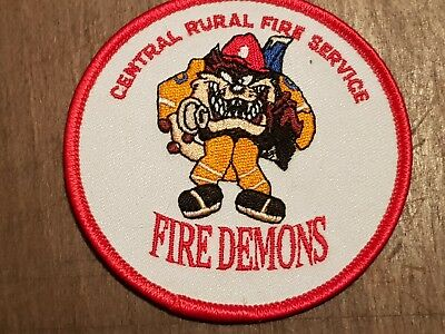 central rural fire service fire demons patch