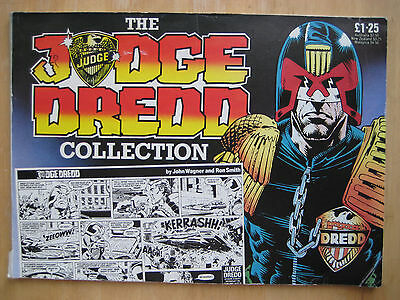 The Judge Dredd Collection 1 [1985 Paperback] | Daily Star strips | Ron Smith