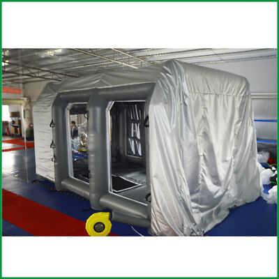 Inflatable Spray Booth Paint Custom Car Spray Booth Tent House Oxford Cloth