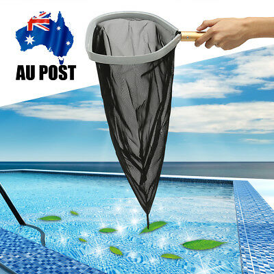 Heavy Duty Swimming Pool Leaf Rake Skimmer w/  HD Mesh Net & 18'' Aluminum Frame
