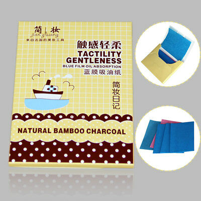 50Pcs Oil Absorption Film Facial Cleaning Tissue Blotting Paper Remove Oil Woman