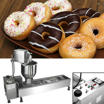 Standard Commercial Automatic Donuts Maker Making Machine,Wide Oil Tank US Plug