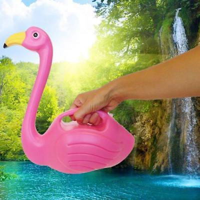 Pink Flamingo Watering Can