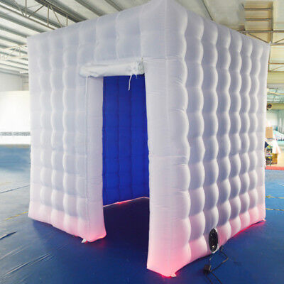 Inflatable Professional LED Air Photo Booth Tent for Weddings Birthday Party