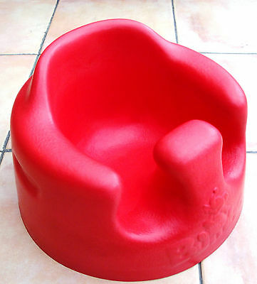 Red Bumbo Seat in very good condition