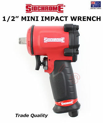 """Sidchrome 1/2"""" - Mini - Impact Wrench Trade Quality Tools Gun Special"""