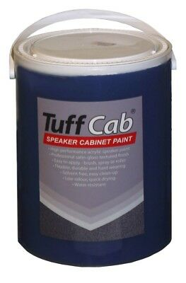 Tuff Cab PRO Speaker Cabinet Paint -  Turbo Blue 5Kg