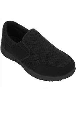 Boys Slip On Comfortable Breathable Contrast Walking Sport Kids Trainers Shoes