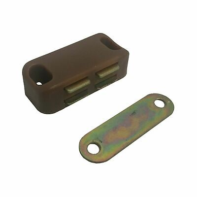 Magnetic Catch Medium Brown (2 Pieces)