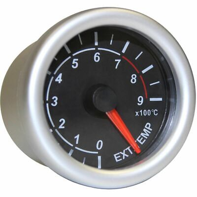 SAAS Autoline Gauge - Black Face, 52mm, Exhaust Temperature, SG71240