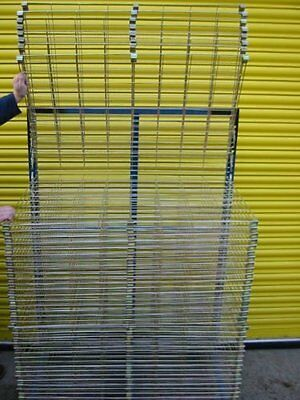 NEW Industrial Drying Rack Metal Frame For  POSTERS ,PAINTINGS ,BALLOONS,Etc