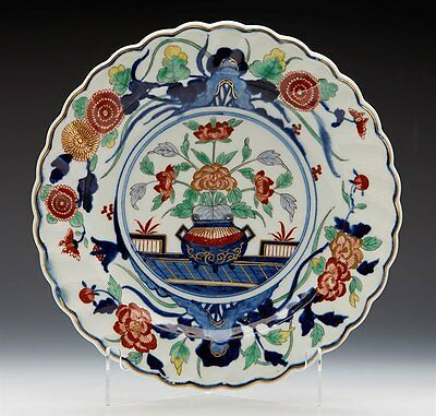 Antique Rare Chelsea Derby Chinese Imari Pattern Plate C.1770