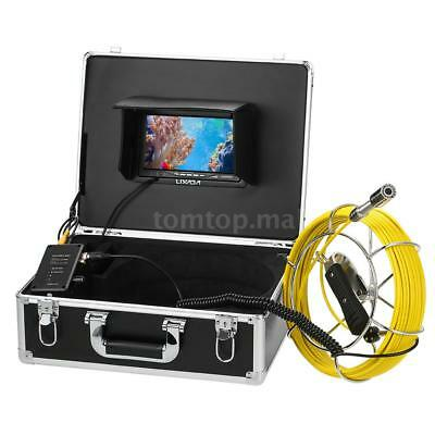 20M Sewer Pipeline Inspection Camera Video Light Case Building Duct View Angle 1