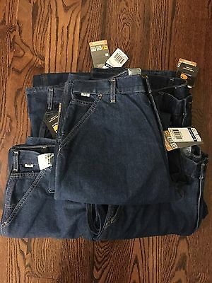 5 Pairs FR Jeans, Carhartt 34x32 Unworn With Tags