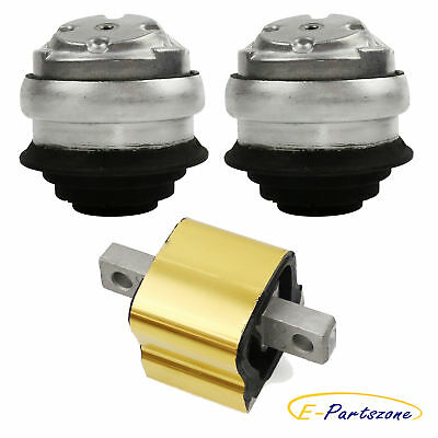 NEW ENGINE /& TRANSMISSION MOUNT KIT FOR MERCEDES W220 S500 S430 CL CLK S-CLASS