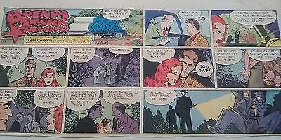Brenda Starr by Dale Messick Newspaper Comic Strips Lot: 24 Sundays, Paper Doll