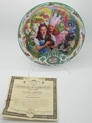 "Wizard of Oz ""Munchkinland"" Musical Plate"