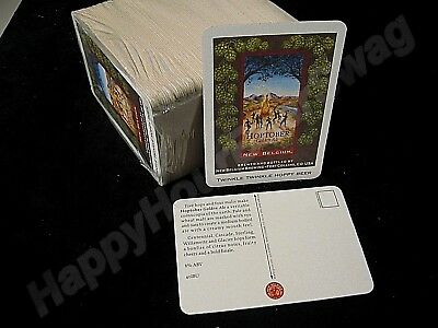 100 Hoptober Golden Ale Beer Coasters Fat Tire New Belgium Brewing Co. Post Card