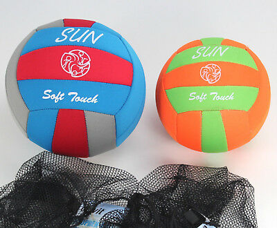 SOFT TOUCH Neoprenball Gr 3, 4 Beach Ball Strandball Volleyball ~yx572 2d1r