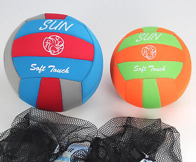 soft touch SUN Neoprenball Gr 3, 4 Beach Ball Strandball Volleyball ~yx572 8000