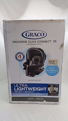 Graco SnugRide 35 Click Connect Baby Infant Car Seat - Gotham (Open Box) 1893807