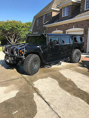 2001 Hummer H1 HMCS Black In Pristine Condition With Too Many Upgrades - REAR ENTERTAINMENT, - RARE