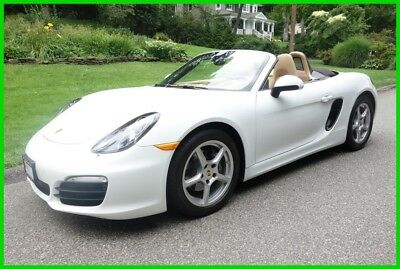 2015 Porsche Boxster Base Convertible 2-Door 2015 Used Certified 2.7L H6 24V Automatic RWD Convertible Premium
