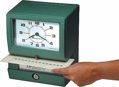 ~NEW~ Acroprint 150RR4 Heavy Duty Automatic Punch Time Clock Recorder